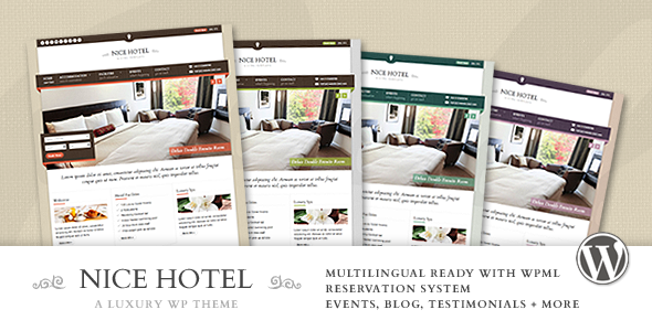 Tema WordPress Nice Hotel