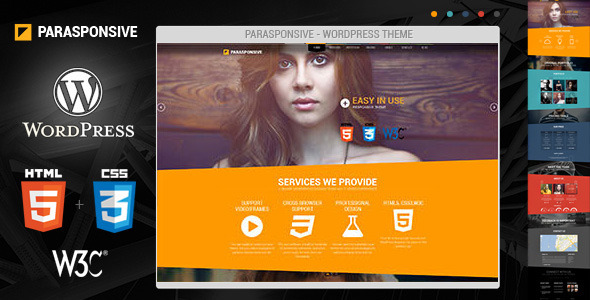 Tema WordPress Parasponsive