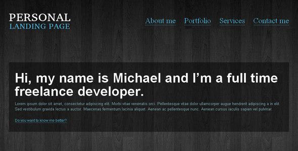 Tema WordPress Personal