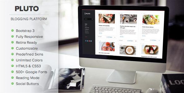 Tema WordPress Pluto