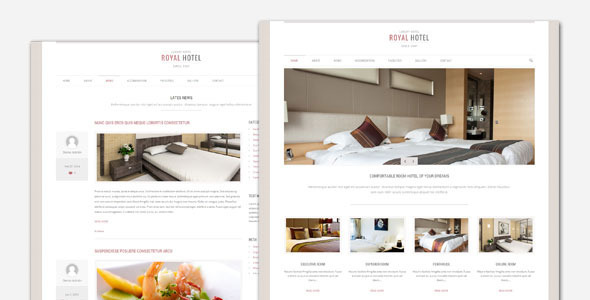 Tema WordPress Royal