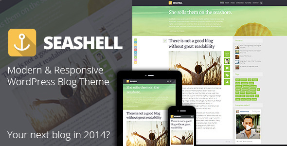 Tema WordPress SeaShell