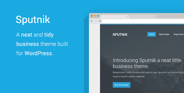 Tema WordPress Sputnik