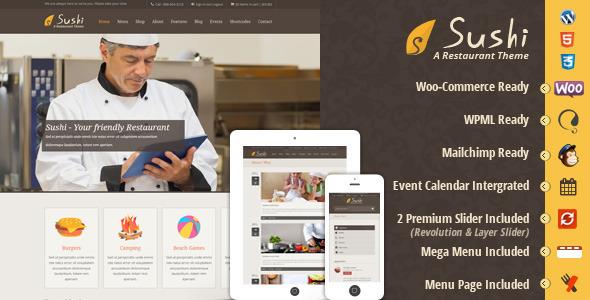Tema WordPress Sushi