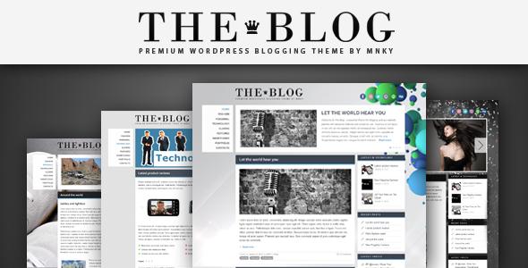 Tema WordPress The Blog