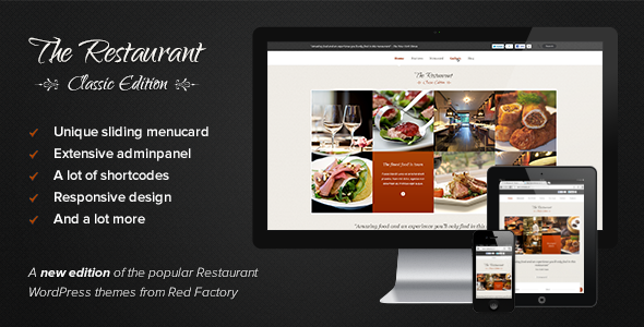 Tema WordPress The Restaurant