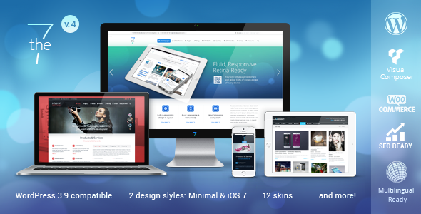 Tema WordPress The7