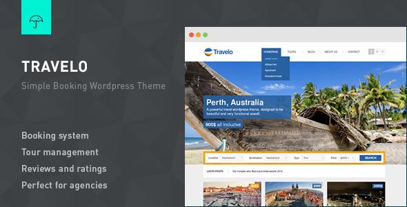 Tema WordPress Travelo