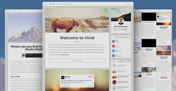 Tema WordPress Vivid