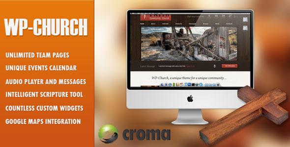 Tema WordPress WP-Church