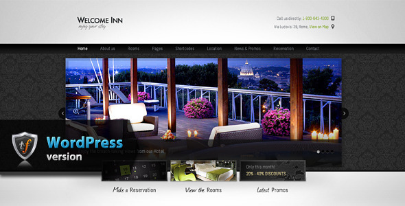 Tema WordPress Welcome Inn