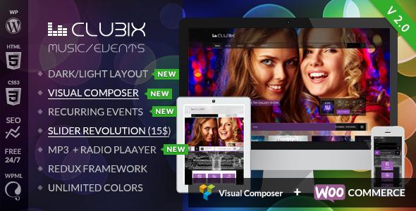 Tema WordPress Clubix