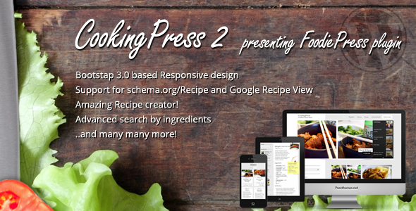 Tema WordPress CookingPress
