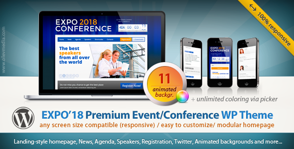 Tema WordPress Expo18
