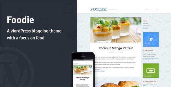 Tema WordPress Foodie