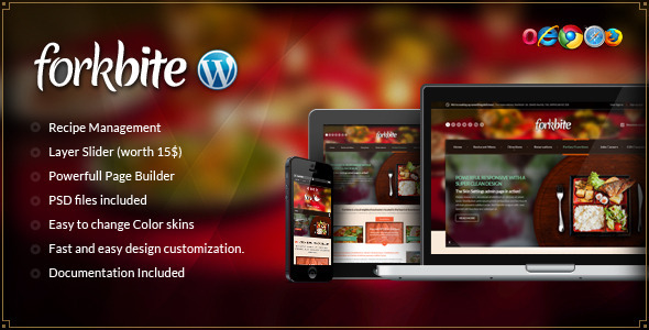 Tema WordPress Forkbite