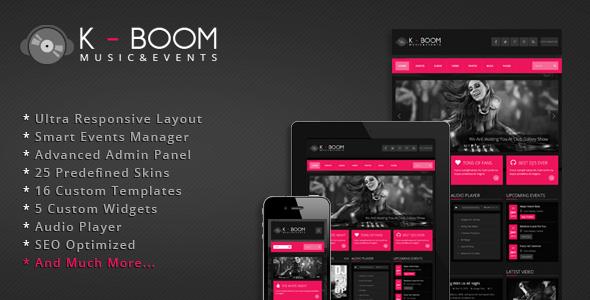 Tema WordPress K-BOOM