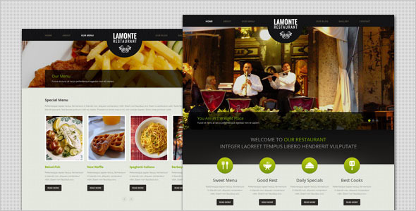 Tema WordPress LaMonte