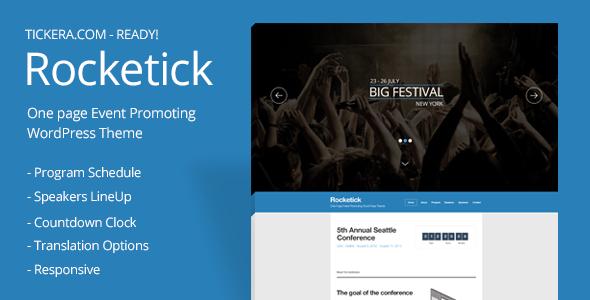 Tema WordPress Rocketick