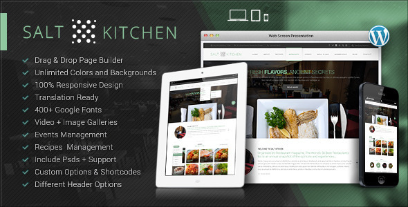 Tema WordPress SaltKitchen