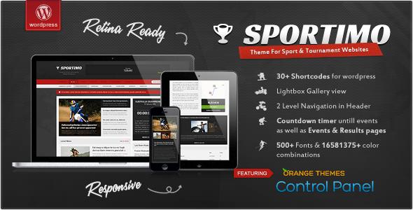 Tema WordPress Sportimo