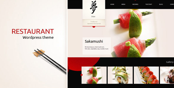 Tema WordPress Taste of Japan