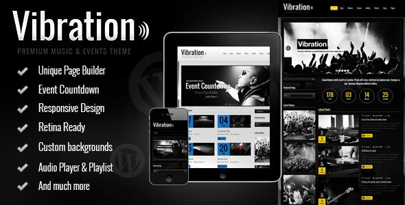 Tema WordPress Vibration