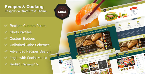 Tema WordPress WPcook