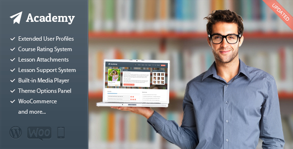 Tema WordPress Academy