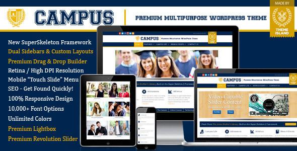 Tema WordPress Campus