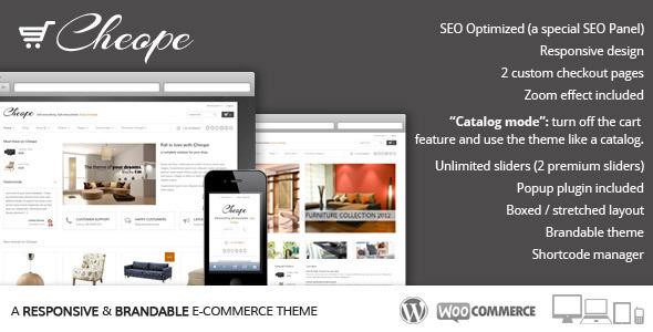 Tema WordPress Cheope Shop