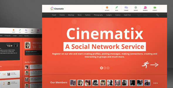 Tema WordPress Cinematix
