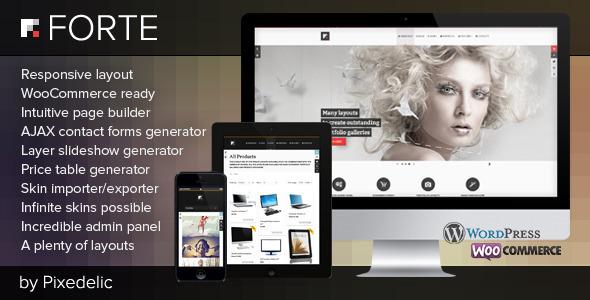 Tema WordPress Forte