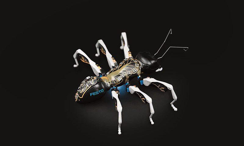 Hormigas Biónicas de FESTO