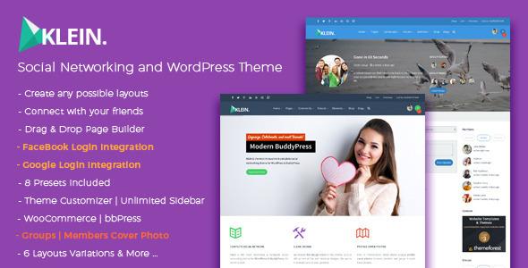 Tema WordPress KLEIN