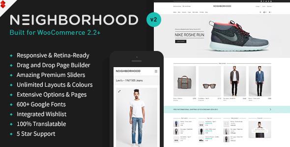 Tema WordPress Neighborhood
