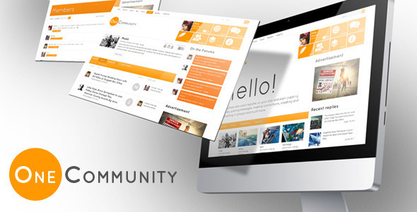 Tema WordPress OneCommunity