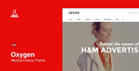 Tema WordPress Oxygen
