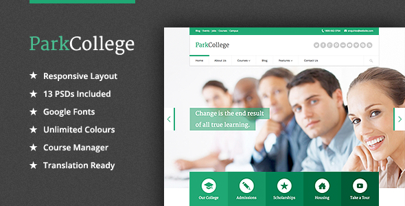 Tema WordPress ParkCollege
