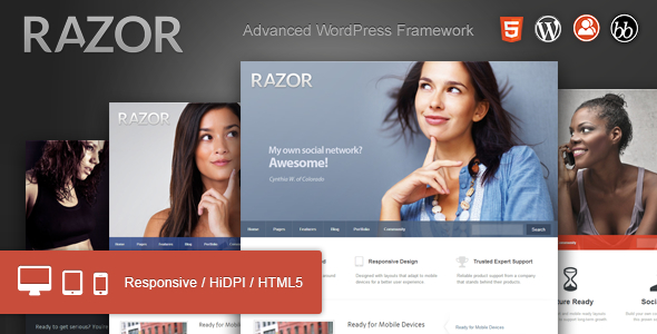Tema WordPress Razor