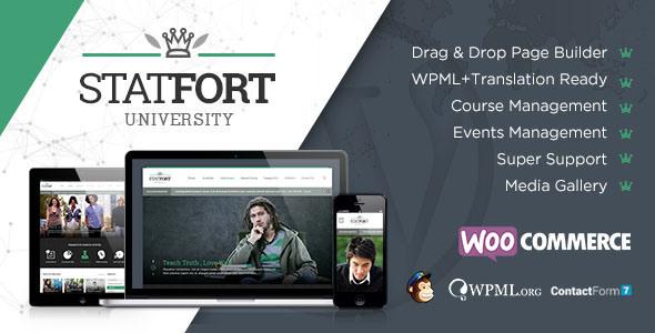 Tema WordPress Statford