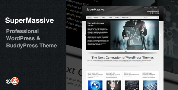Tema WordPress SuperMassive