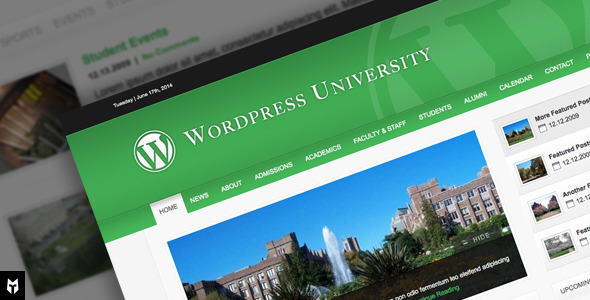 Tema WordPress University WP Theme