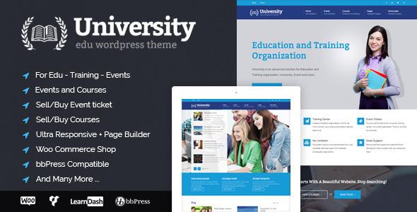 Tema WordPress University