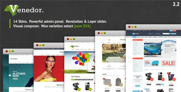 Tema WordPress Venedor