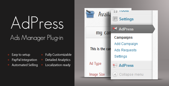 Plugin AdPress