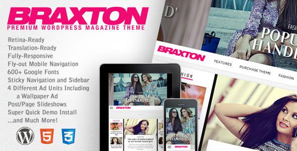 Tema WordPress Braxton