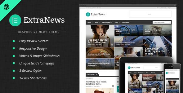 Tema WordPress ExtraNews