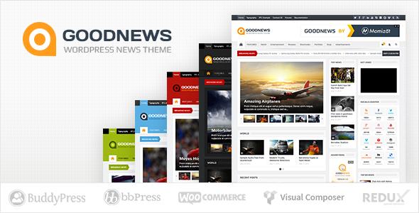 Tema WordPress Goodnews