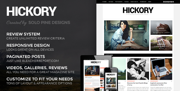 Tema WordPress Hickory